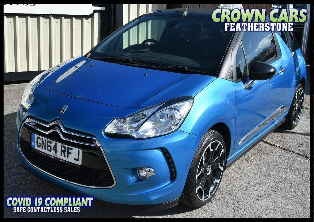 USED 2014 64 CITROEN DS3 1.6 VTi DStyle Plus Cabriolet 2dr AMAZING CABRIOLET FOR SUMMER