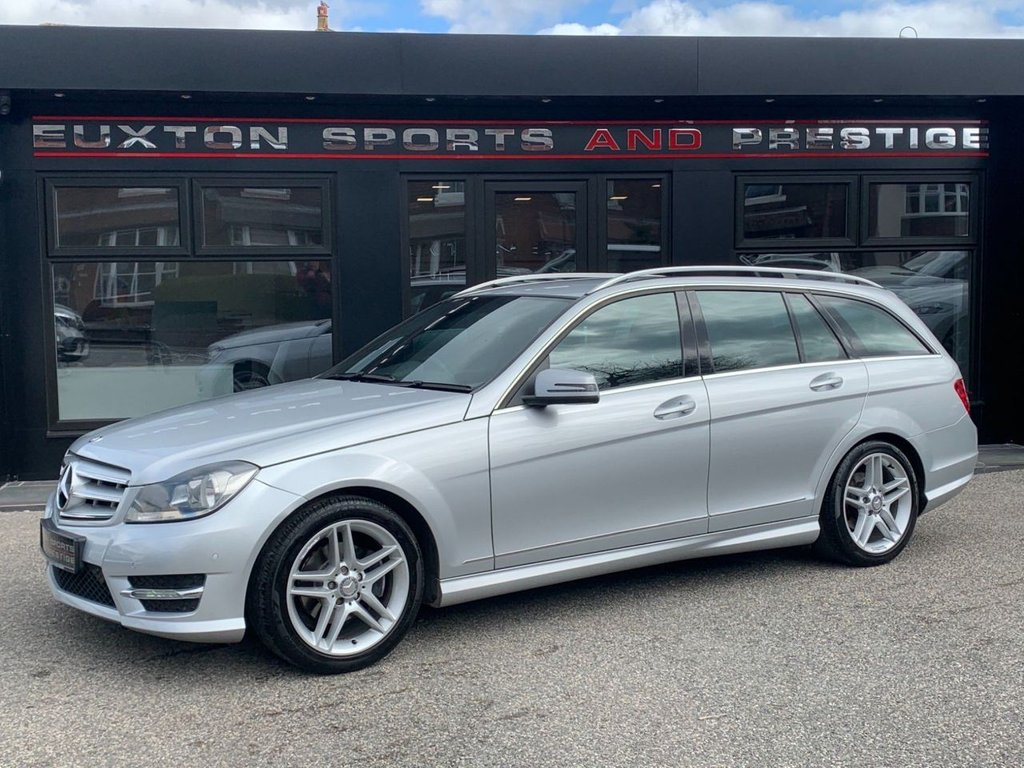 USED 2012 62 MERCEDES-BENZ C-CLASS 1.6 C180 AMG Sport 7G-Tronic Plus 5dr FULL SERVICE HISTORY