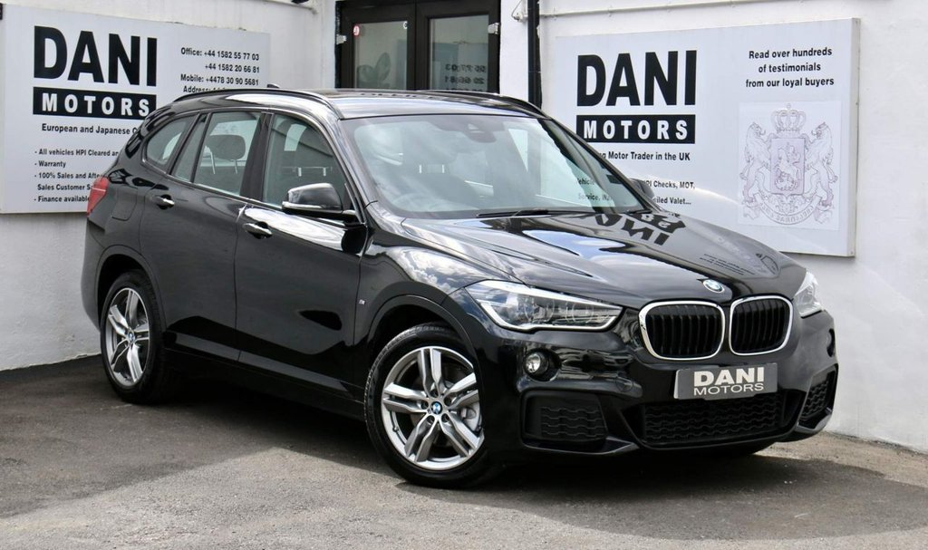 USED 2016 66 BMW X1 2.0 25d M Sport Auto xDrive (s/s) 5dr 1 OWNER*SATNAV*PARKING AID