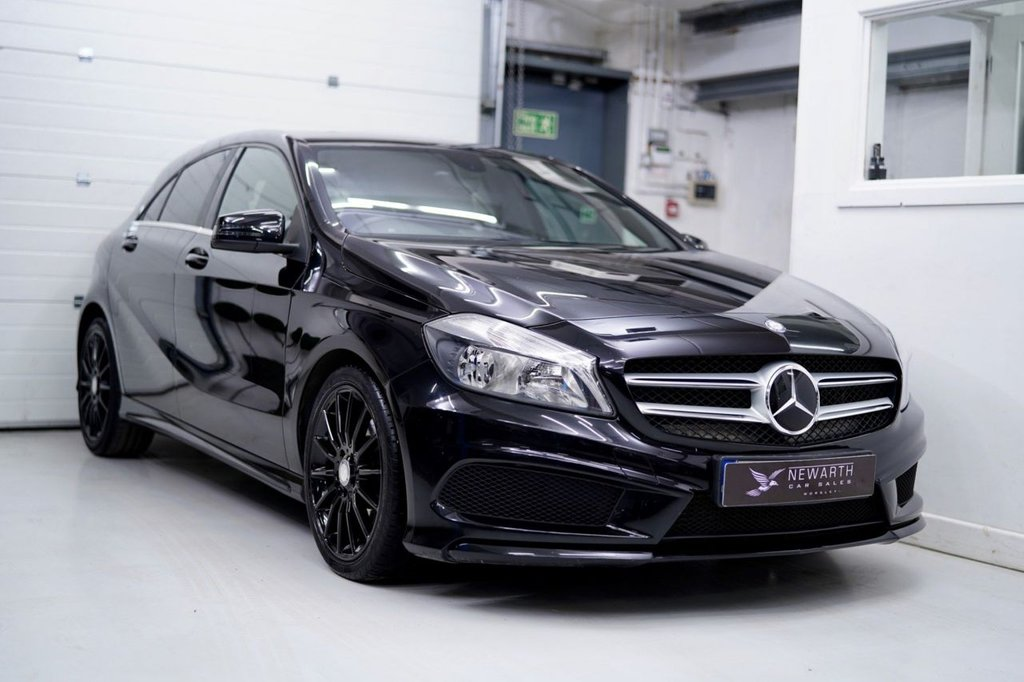 USED 2013 63 MERCEDES-BENZ A-CLASS 2.1 A220 CDI BlueEFFICIENCY AMG Sport 7G-DCT 5dr
