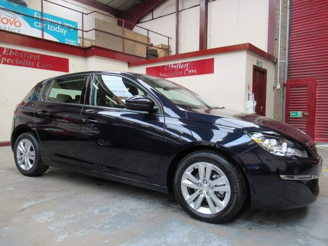 USED 2016 65 PEUGEOT 308 1.6 BlueHDi Active (s/s) 5dr ***31000 MILES F/S/H***