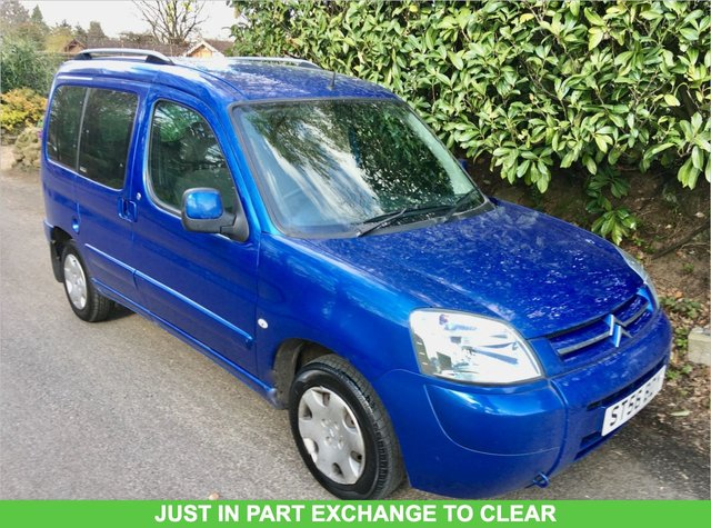 2006 56 CITROEN BERLINGO 1.4 MULTISPACE XTR 5d 74 BHP ONLY 2 OWNERS//X10 SERVICE HISTORY STAMPS
