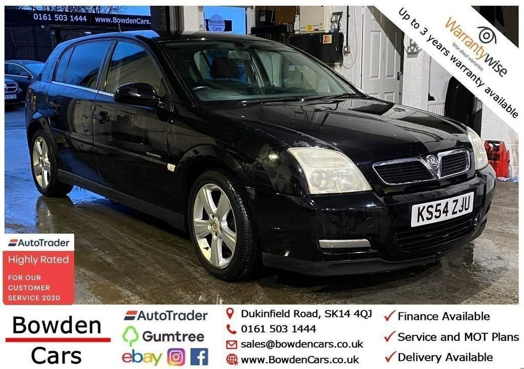 USED 2005 54 VAUXHALL SIGNUM 2.0 ELEGANCE DTI 16V 5d 100 BHP **FREE NATIONWIDE DELIVERY**