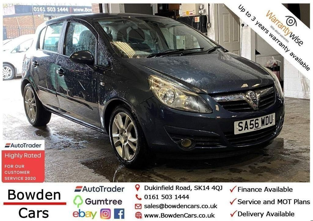 USED 2006 56 VAUXHALL CORSA 1.4 SXI 16V 5d 90 BHP **FREE NATIONWIDE DELIVERY**