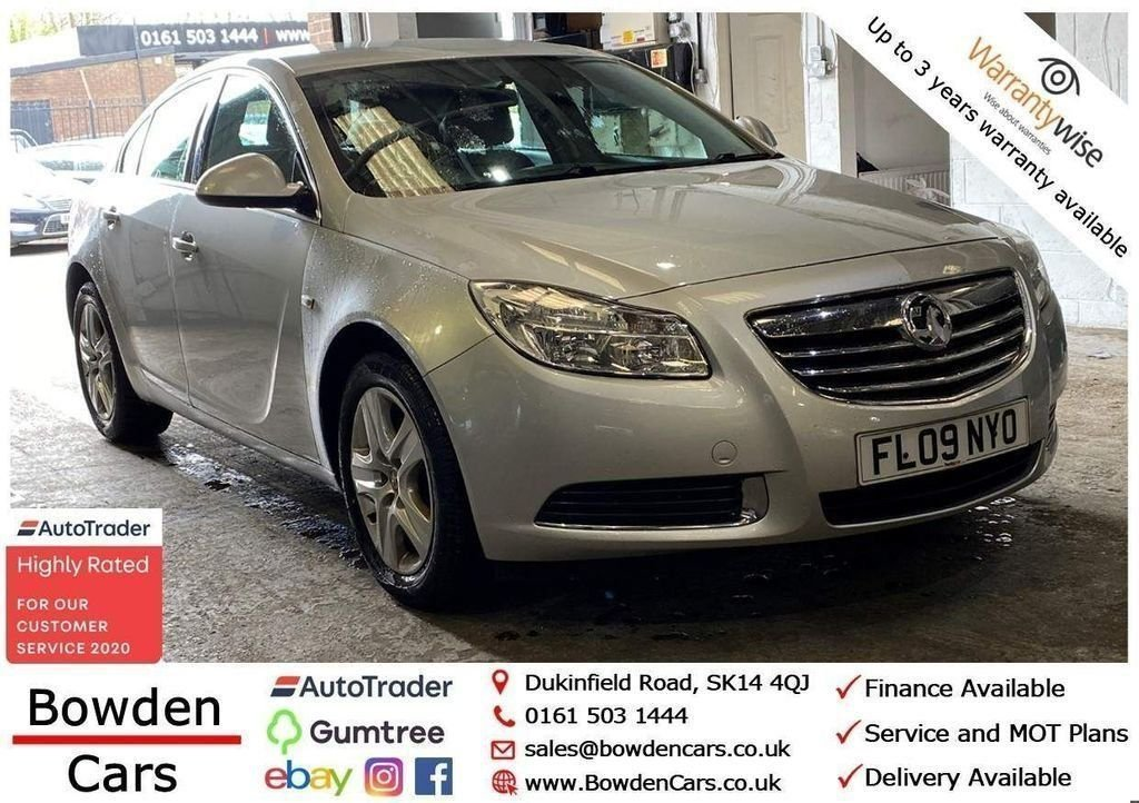 USED 2009 09 VAUXHALL INSIGNIA 2.0 EXCLUSIV CDTI 5d 130 BHP **FREE NATIONWIDE DELIVERY**