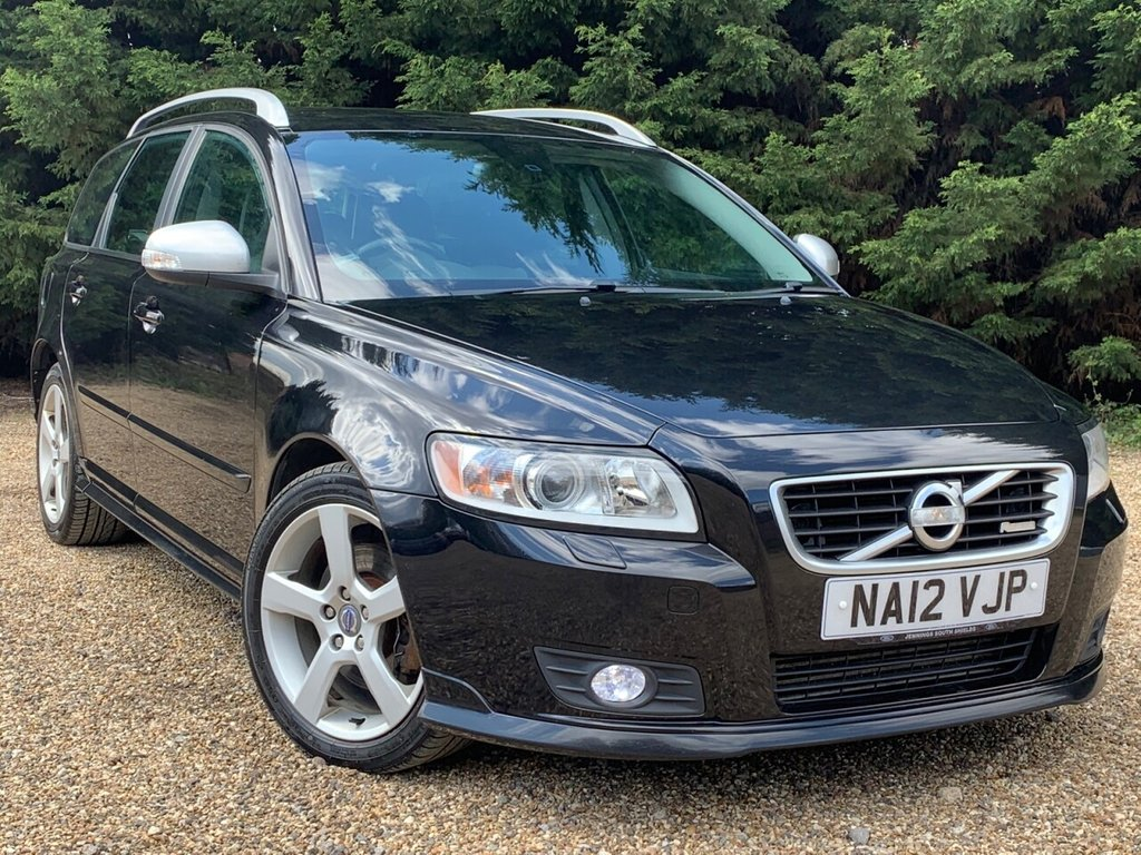USED 2012 12 VOLVO V50 2.0 D3 R-DESIGN EDITION 5d 148 BHP