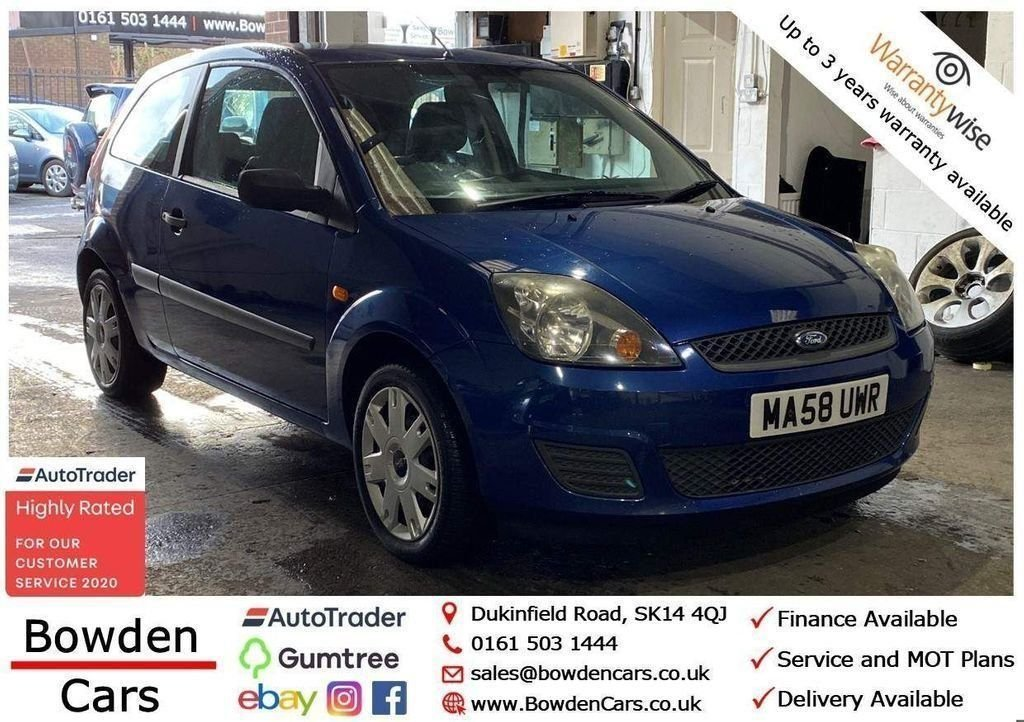 USED 2008 58 FORD FIESTA 1.2 STYLE 16V 3d 78 BHP **FREE NATIONWIDE DELIVERY**