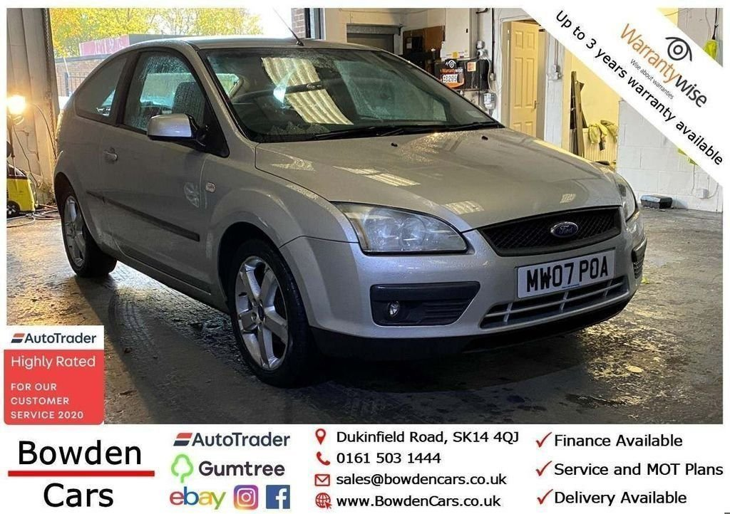 USED 2007 07 FORD FOCUS 1.8 SPORT S LIMITED EDITION 3d 124 BHP