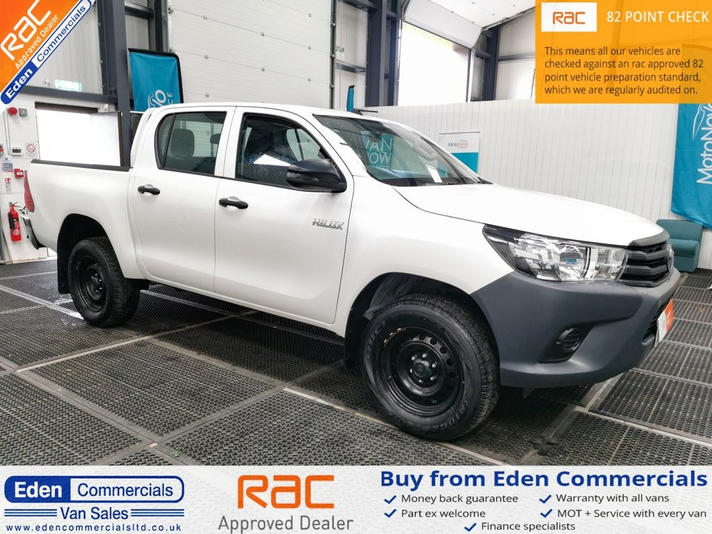 USED 2019 69 TOYOTA HI-LUX 2.4 ACTIVE 4WD D-4D DCB 5d 148 BHP