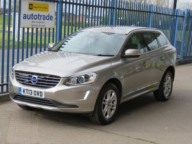 USED 2013 13 VOLVO XC60 2.4 D5 SE LUX NAV AWD 5dr 212 Sat nav Leather Cruise Heated seats Power tailgate Finance arranged Part exchange available Open 7 days