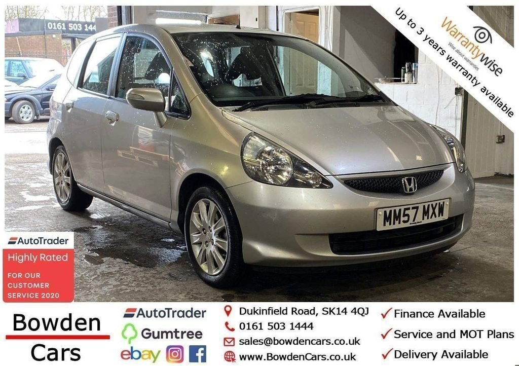 USED 2008 57 HONDA JAZZ 1.3 DSI SE 5d 82 BHP **FREE NATIONWIDE DELIVERY**