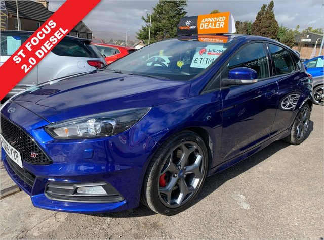USED 2015 65 FORD FOCUS 2.0 ST-3 TDCI 5d 183 BHP