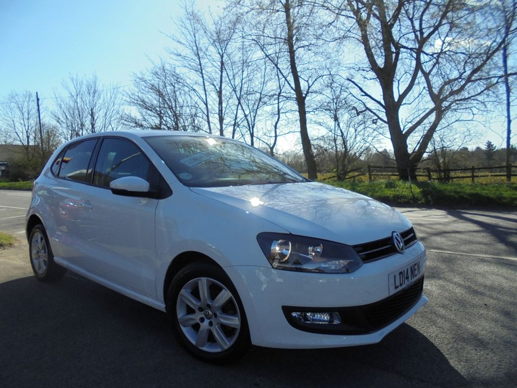 USED 2014 14 VOLKSWAGEN POLO 1.2 MATCH EDITION 5d 69 BHP