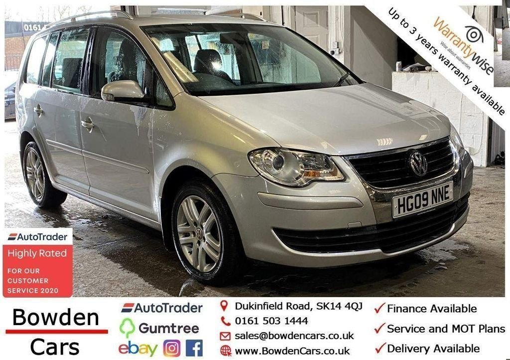 USED 2009 09 VOLKSWAGEN TOURAN 1.9 SE TDI 5d 103 BHP **FREE NATIONWIDE DELIVERY**