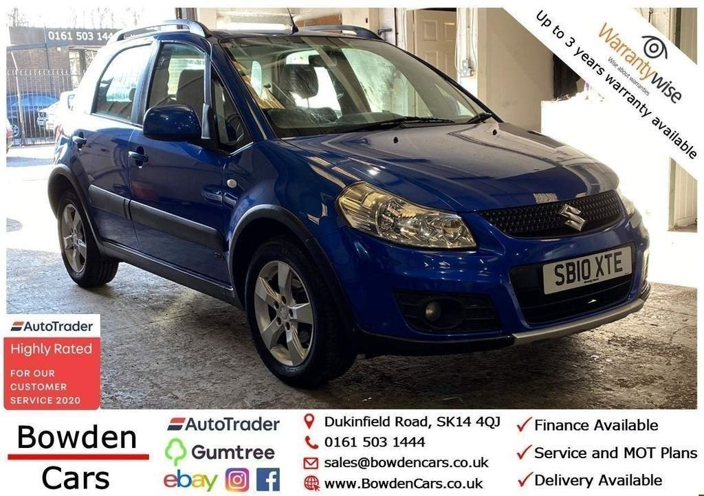 USED 2010 10 SUZUKI SX4 1.6 SZ4 5d 118 BHP **FREE NATIONWIDE DELIVERY**