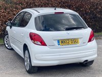 USED 2012 12 PEUGEOT 207 1.6 ALLURE 5d LOW MILEAGE, SERVICE HISTORY, 12 MONTHS MOT, HALF LEATHER INTERIOR, REAR PARKING SENSORS, BLUETOOTH