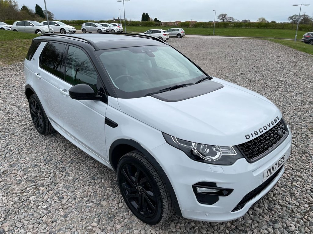 USED 2017 17 LAND ROVER DISCOVERY SPORT 2.0 TD4 HSE DYNAMIC LUX 5d 180 BHP Free Next Day Nationwide Delivery