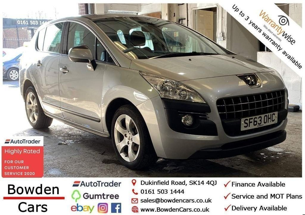 USED 2013 63 PEUGEOT 3008 1.6 HDI ACTIVE 5d 115 BHP **FREE NATIONWIDE DELIVERY**