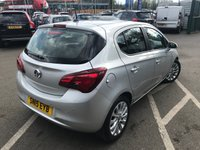 USED 2015 15 VAUXHALL CORSA 1.4 SE 5d 89 BHP FULL HISTORY + GREAT SPEC
