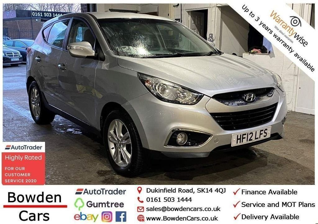 USED 2012 12 HYUNDAI IX35 1.6 STYLE GDI 5d 133 BHP **FREE NATIONWIDE DELIVERY**