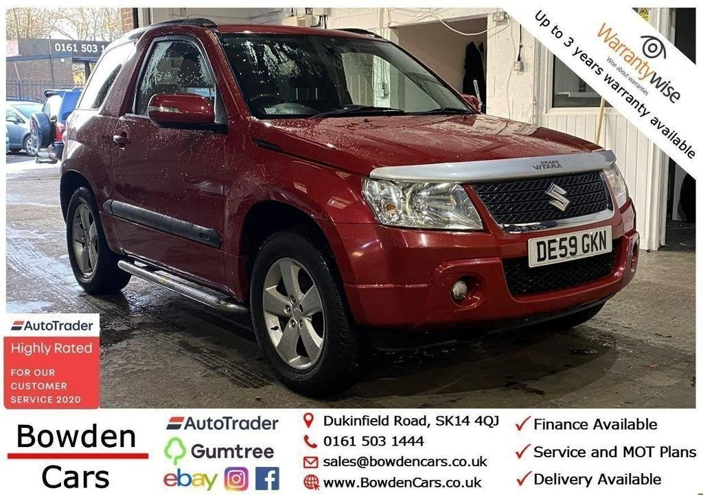 USED 2009 59 SUZUKI GRAND VITARA 2.4 SZ4 3d 165 BHP **FREE NATIONWIDE DELIVERY**