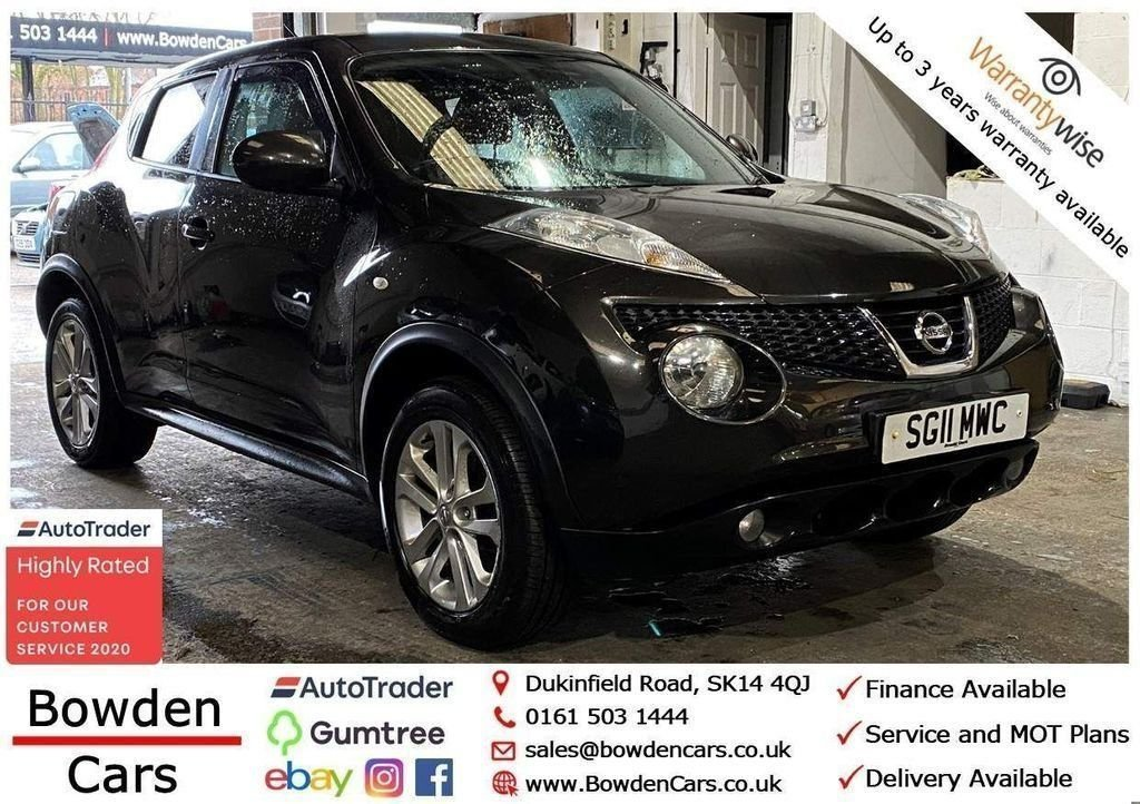 USED 2011 11 NISSAN JUKE 1.6 ACENTA SPORT DIG-T 5d 190 BHP **FREE NATIONWIDE DELIVERY**