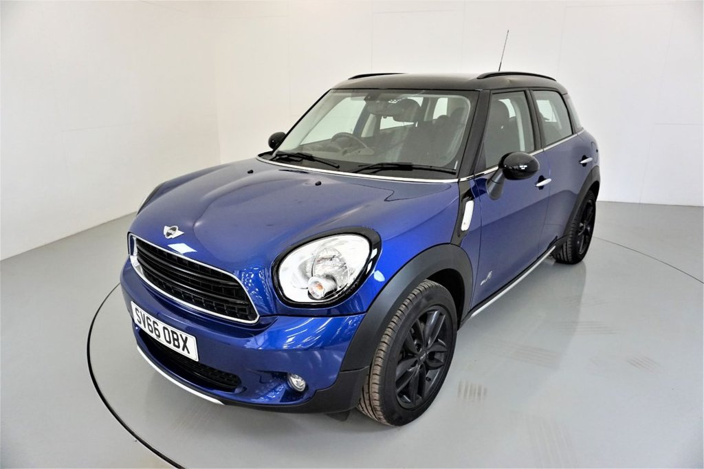 USED 2016 66 MINI COUNTRYMAN 2.0 COOPER D ALL4 5d AUTO-2 OWNER CAR-HALF LEATHER-17