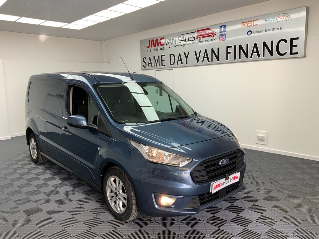 USED 2018 68 FORD TRANSIT CONNECT 1.5 240 LIMITED TDCI 120BHP 1 OWNER LWB STILL UNDER FORD WARRANTY AIR CON & CRUISE  1 OWNER STILL UNDER FRD WARRANTY AIR CON CRUISE HEATES SEATS