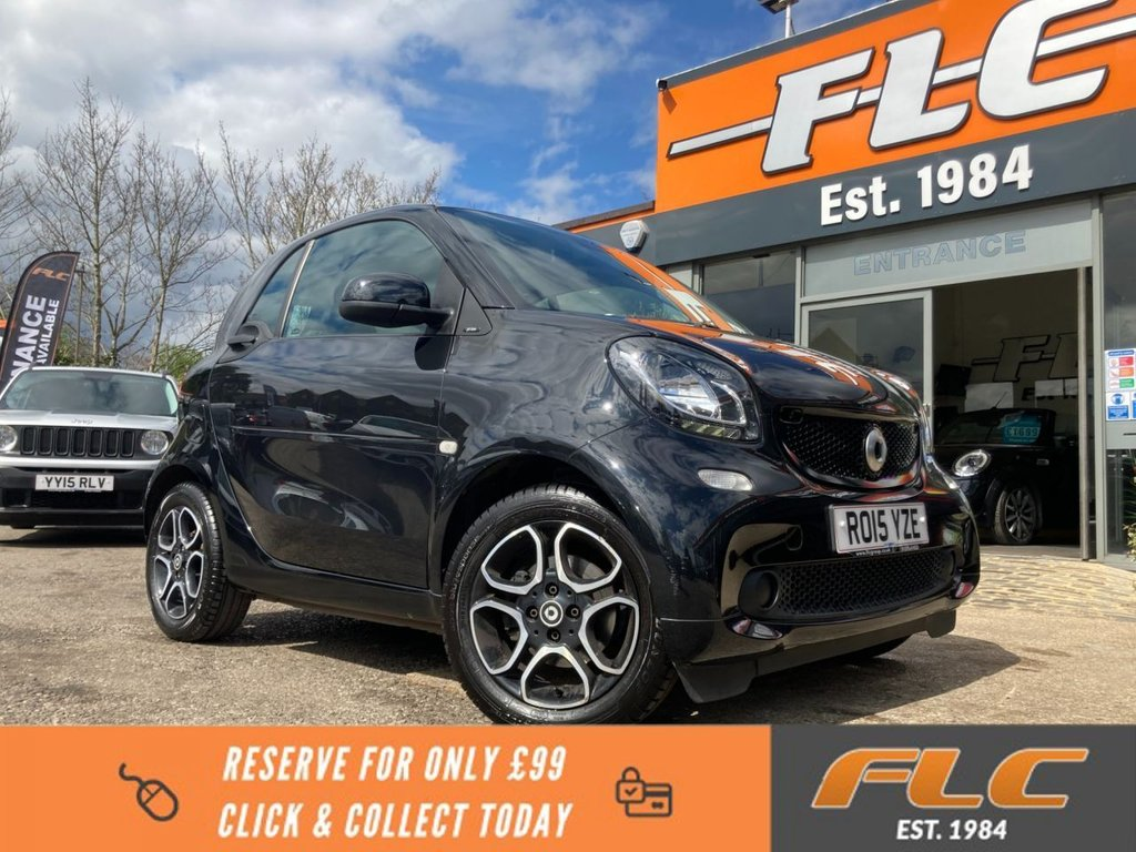 USED 2015 15 SMART FORTWO 1.0 PRIME 2d 71 BHP