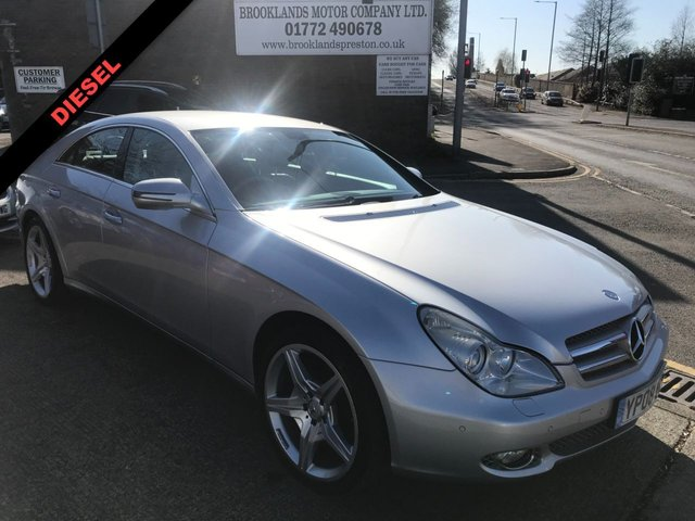 USED 2008 08 MERCEDES-BENZ CLS CLASS  CLS 320CDI 4DR 222 BHP