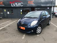 USED 2008 58 TOYOTA YARIS 1.3 T3 VVT-I MM 5d 86 BHP ONLY 41000 MILES !!