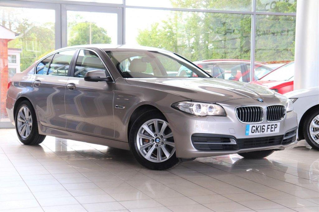 USED 2016 16 BMW 5 SERIES 3.0 530D SE 4d 255 BHP Satnav + Cruise + Parking Aid + Dab