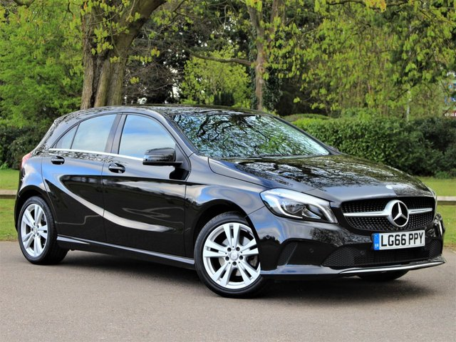 USED 2016 66 MERCEDES-BENZ A-CLASS 1.6 A 180 SPORT PREMIUM 5d 121 BHP £207 PCM With £1449 Deposit
