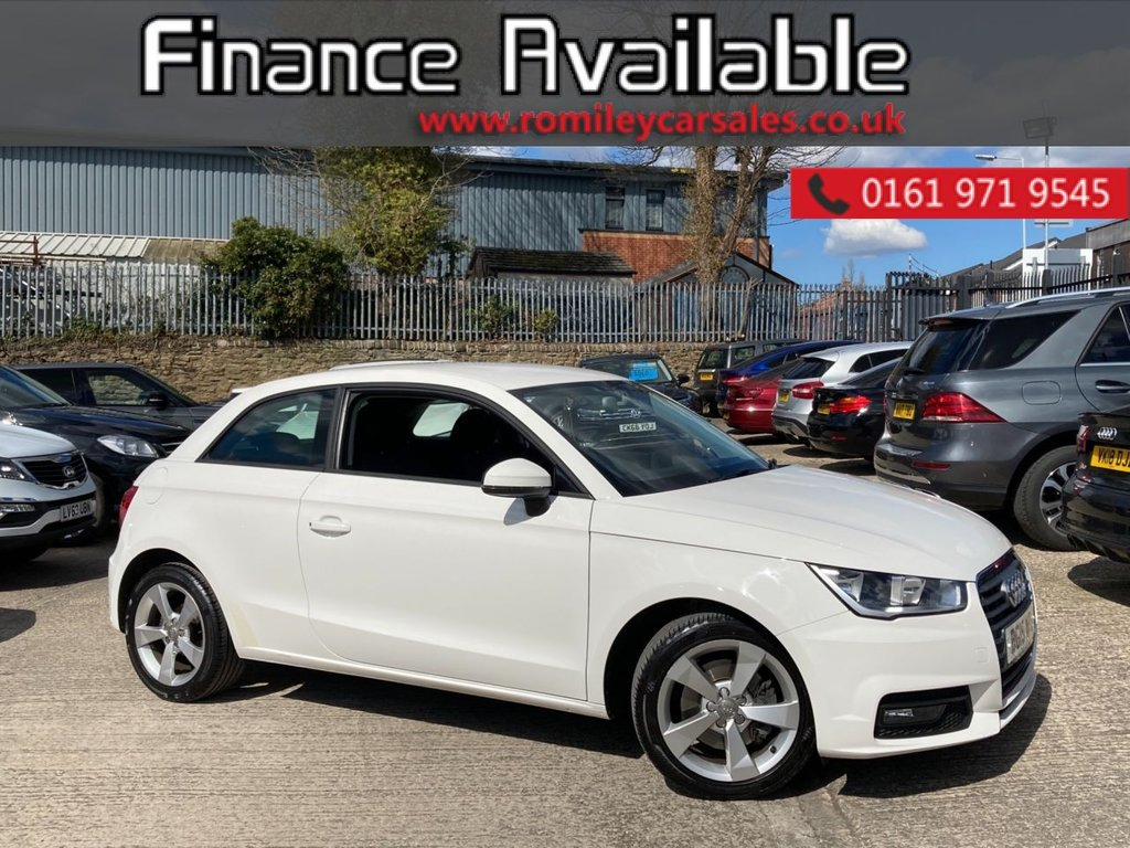 "USED 2015 15 AUDI A1 1.4 TFSI SPORT 3d 123 BHP FULL SERVICE RECORD - BLUETOOTH - 17"" ALLOYS - ELECTRIC WINDOWS"