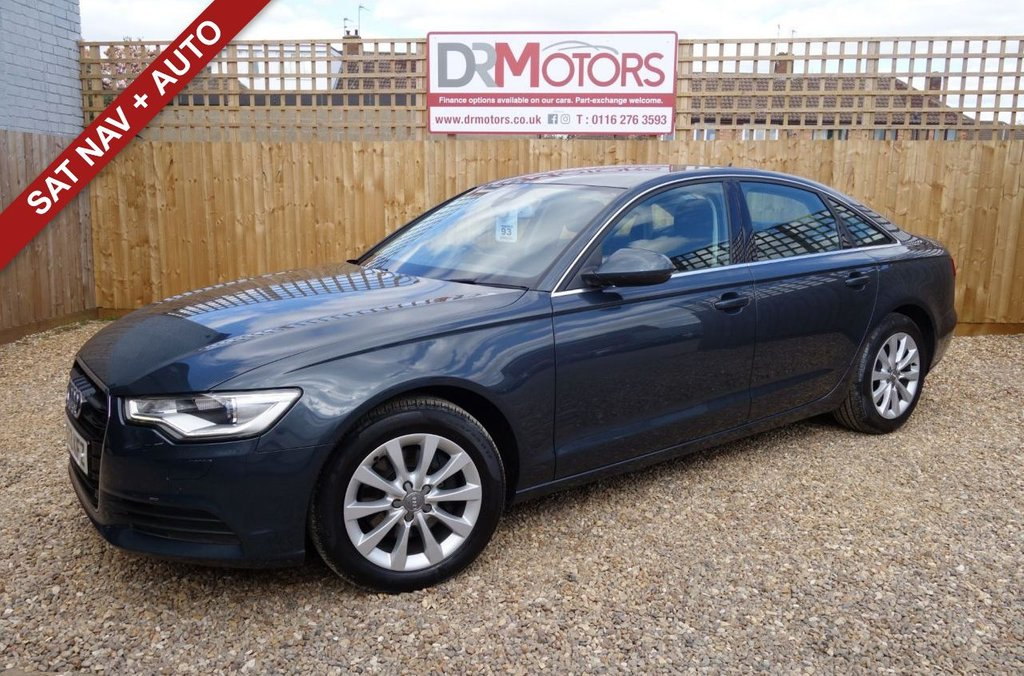 USED 2013 13 AUDI A6 2.0 TDI SE 4d 175 BHP *** 6 MONTHS NATIONWIDE GOLD WARRANTY ***