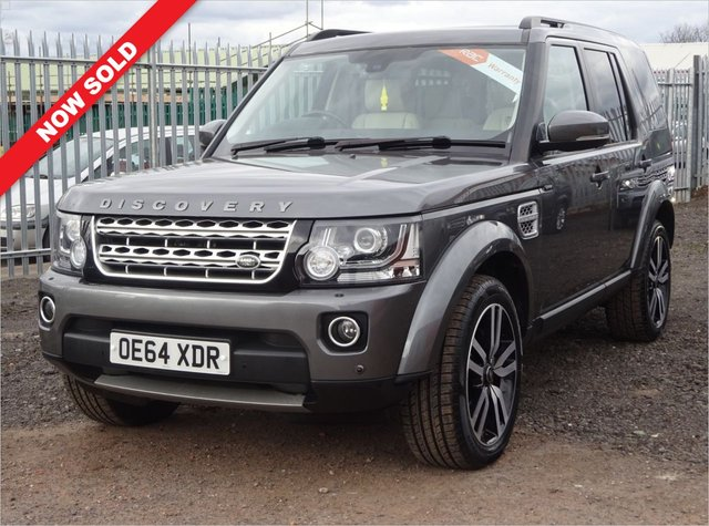 USED 2015 64 LAND ROVER DISCOVERY 3.0 SDV6 HSE LUXURY 5d 255 BHP