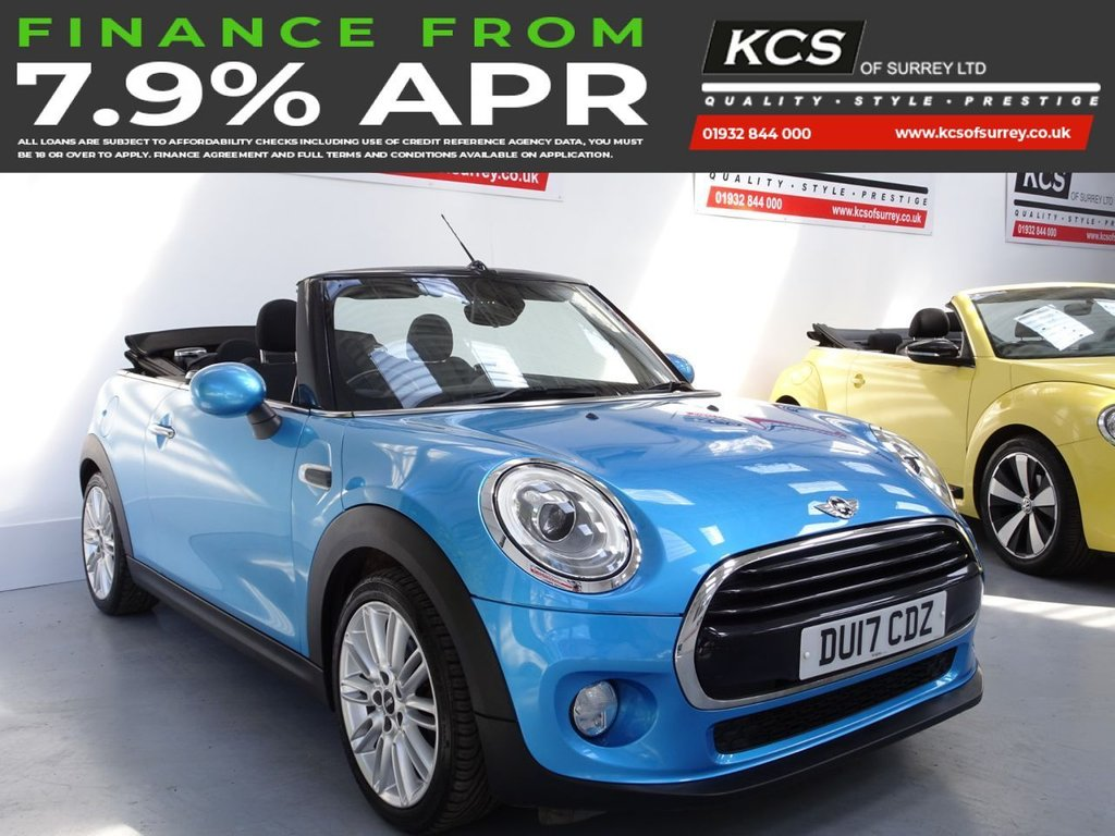 USED 2017 17 MINI CONVERTIBLE 1.5 COOPER 2d 134 BHP CHILI PACK - REAR CAMERA
