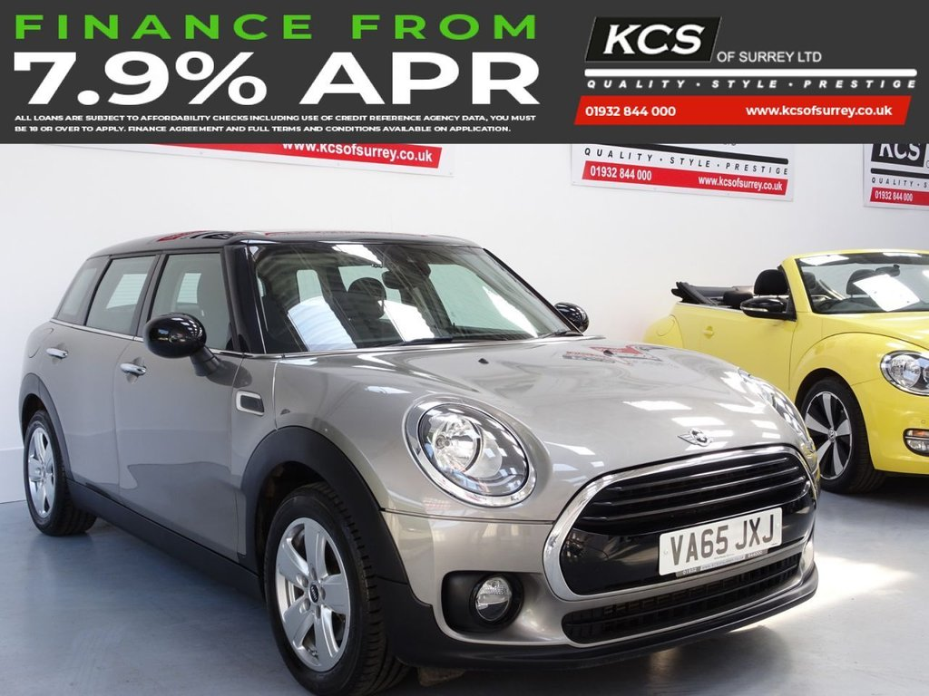 USED 2016 65 MINI CLUBMAN 1.5 COOPER 5d 134 BHP SAT NAV - PANORMAIC SUNROOF