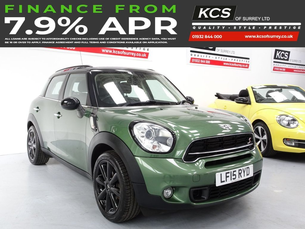 USED 2015 15 MINI COUNTRYMAN 2.0 COOPER SD 5d 141 BHP CHILI PACK - HEATED LEATHER
