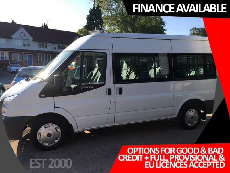 USED 2013 T FORD TRANSIT 2.2 300 SHR 9 STR 5d 124 BHP * DETAILS WILL FOLLOW *