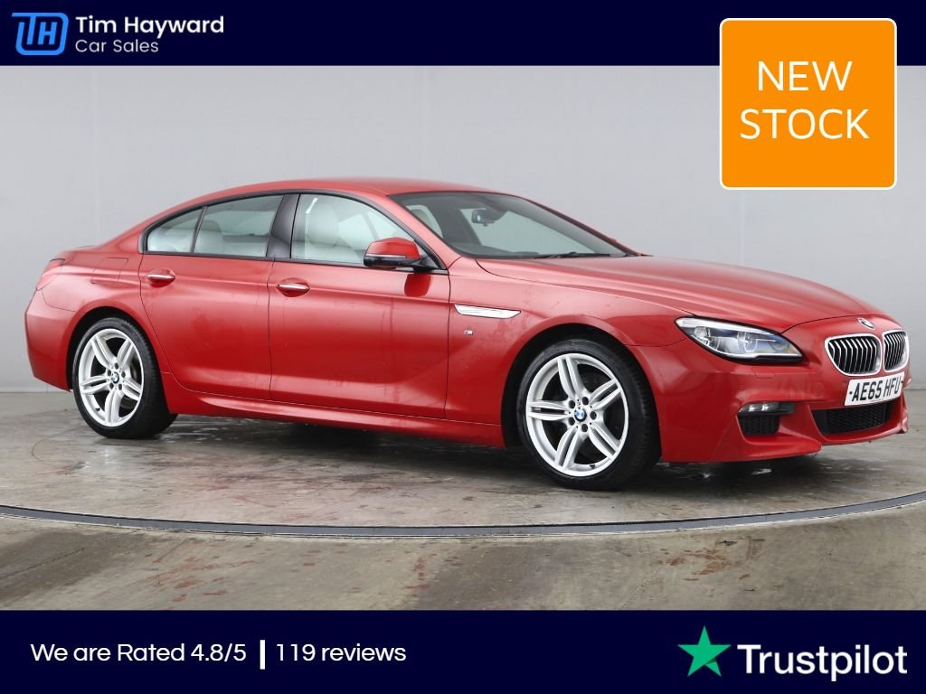 USED 2016 65 BMW 6 SERIES 3.0 640D M SPORT GRAN COUPE 4d 309 BHP