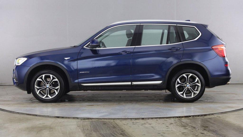 USED 2017 66 BMW X3 2.0 XDRIVE20D XLINE 5d 188 BHP
