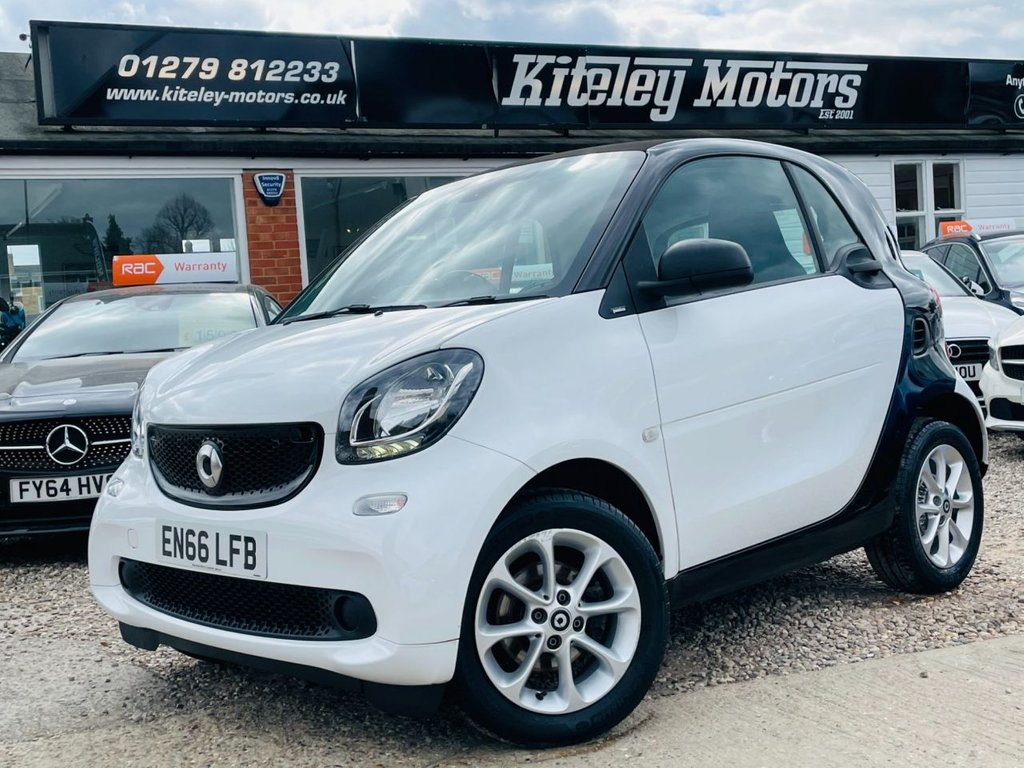 USED 2017 66 SMART FORTWO 1.0 PASSION 2d 71 BHP