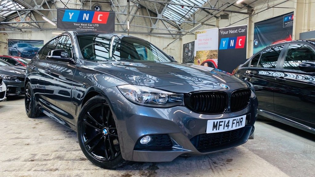USED 2014 14 BMW 3 SERIES 2.0 320d M Sport GT Auto (s/s) 5dr YNCSTYLING+19S+HEATDLTHR