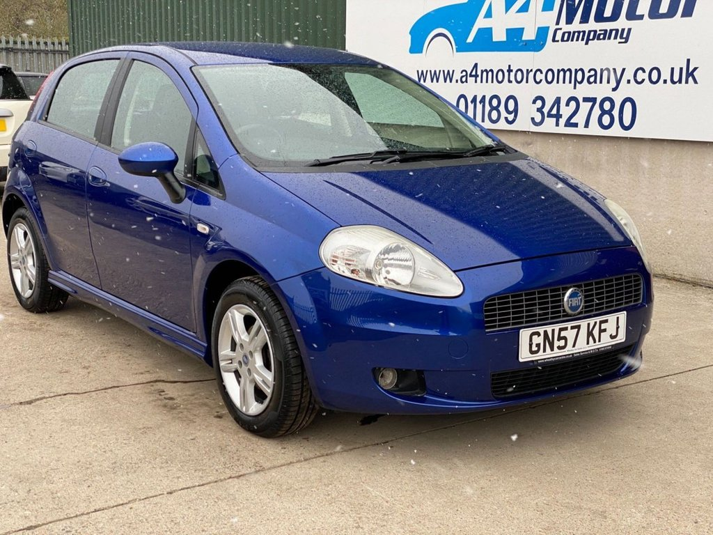 USED 2007 57 FIAT GRANDE PUNTO 1.4 Dynamic Sport 5dr WE ARE OPEN BY APPOINTMENT