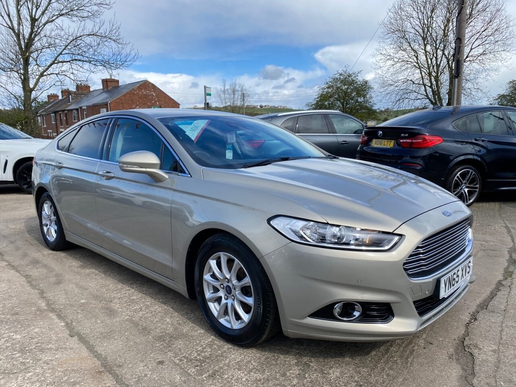 USED 2015 65 FORD MONDEO 1.5 TITANIUM ECONETIC TDCI 5d 114 BHP * 1 OWNER * £0 TAX * SAT NAV * DAB * BLUETOOTH * PARKING AID * EXCELLENT *
