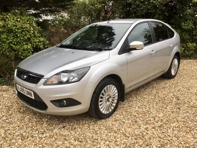 USED 2009 09 FORD FOCUS 2.0 TITANIUM 5d 145 BHP AIR CON LOW MILEAGE FINANCE ME TODAY-UK DELIVERY POSSIBLE
