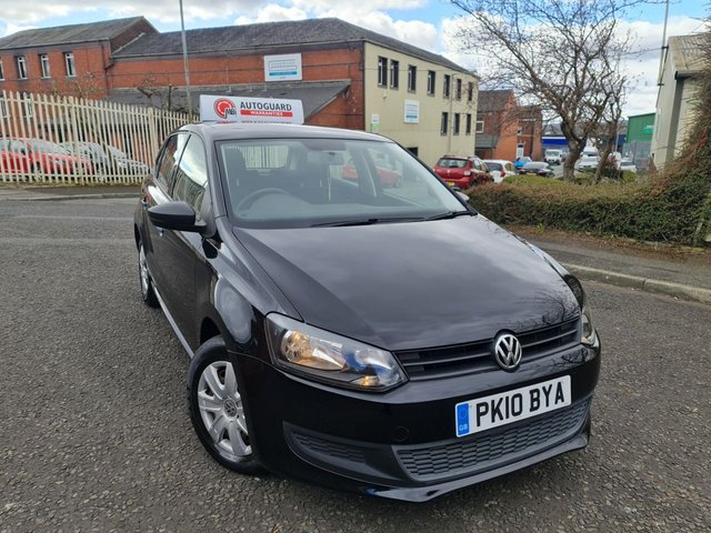 USED 2010 10 VOLKSWAGEN POLO 1.2 S A/C 5d 60 BHP A GREAT ECONOMICAL VEHICLE