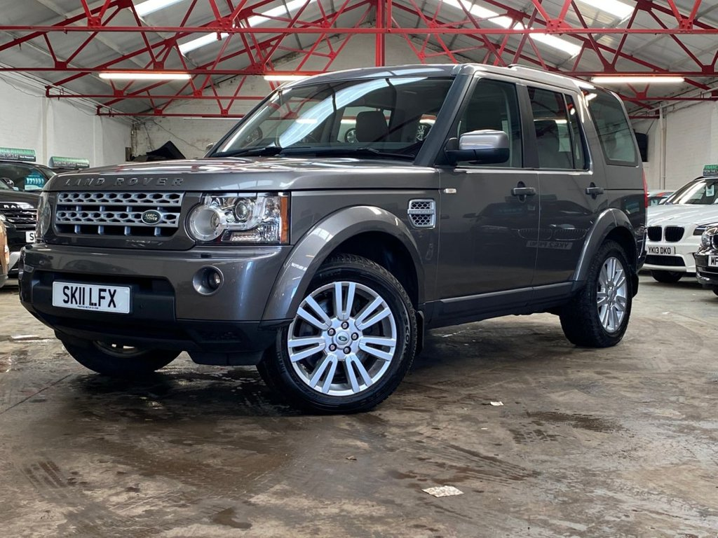 USED 2011 11 LAND ROVER DISCOVERY 3.0 4 TDV6 HSE 5d 245 BHP