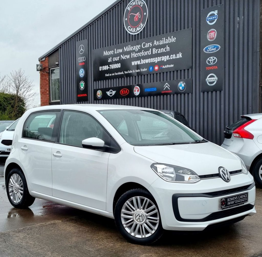 USED 2019 19 VOLKSWAGEN UP 1.0 MOVE UP 5D 60 BHP Full VW Service History